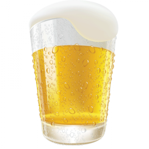 lifelike-beer-glasses-and-beer-bubbles-vector-graphic