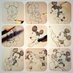 【画像】鉛筆で描いたミッキーが素敵かわいすぎると話題にwww